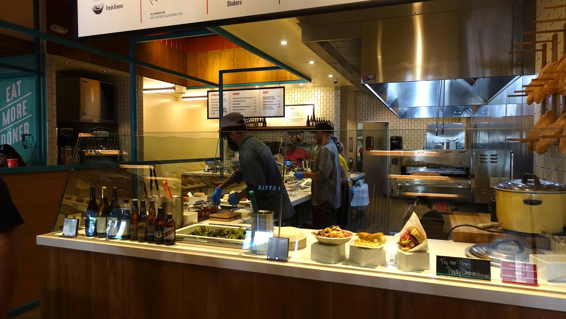 California Westwood Village Spire Works Modern Doner Eat