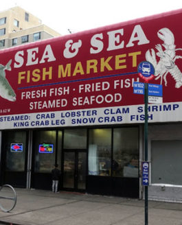 New York City: Harlem, Sea & Sea Fish Market