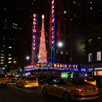 NYC Radio City; photo by Richard Bilow; courtesy ETG