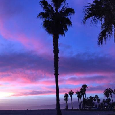 Venice Beach sunset; photo by Kathy Leonardo; courtesy of ETG