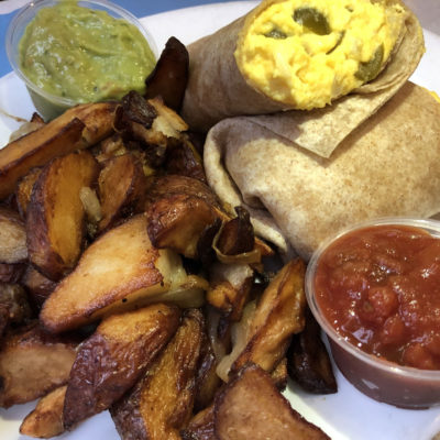 Egg Burrito, EJ's Luncheonette
