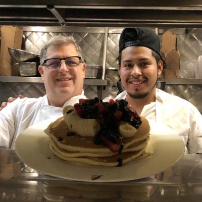 Executive Chef Steven Tedesco with Juan Jose Martinez Estrada