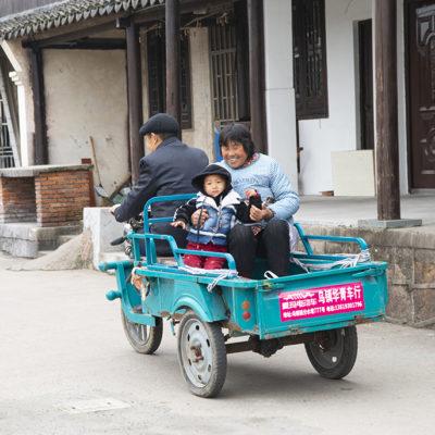 Family in Wuzhen, photo by JJ L'Heureux