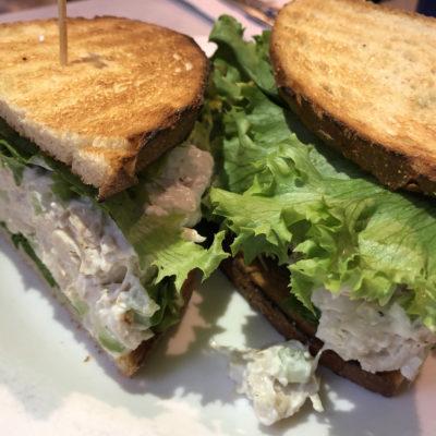 Chicken Salad Sandwich, EJ's Luncheonette