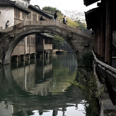 Wuzhen, China, Moon Bridge photo by JJ LHeureux