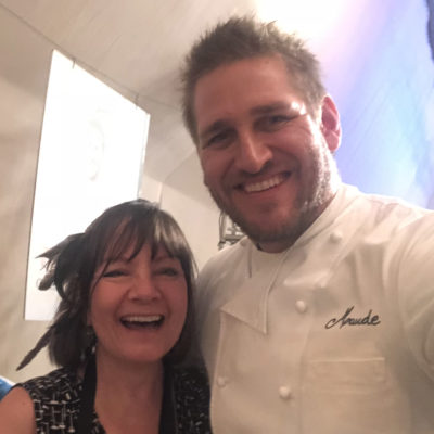 Meet your favorite chef at the LA Food and Wine Festival - Curtis Stone with me Kathy Leonardo