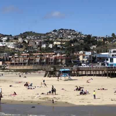Photo taken from the Pier of the Town of Pismo Beach; photo by Kathy Leonardo; courtesy of ETG;