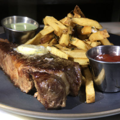 The Flannery Beef Bone-in center cut New York Strip Steak