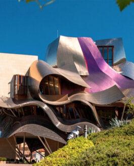 Spain: Elciego, Marques de Riscal Hotel